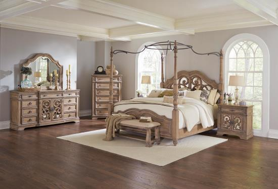 CA 5PC SET W/205072 (KW.BED+NS+DR+MR+CH)
