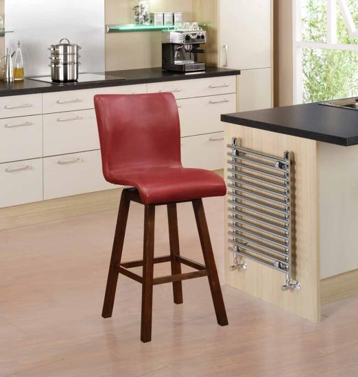 """29""""H BARSTOOL RED (Pack of 2)"""