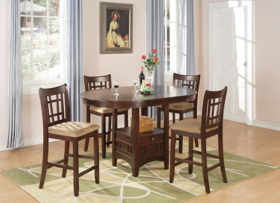 5PC SET (TBL+4STOOL)